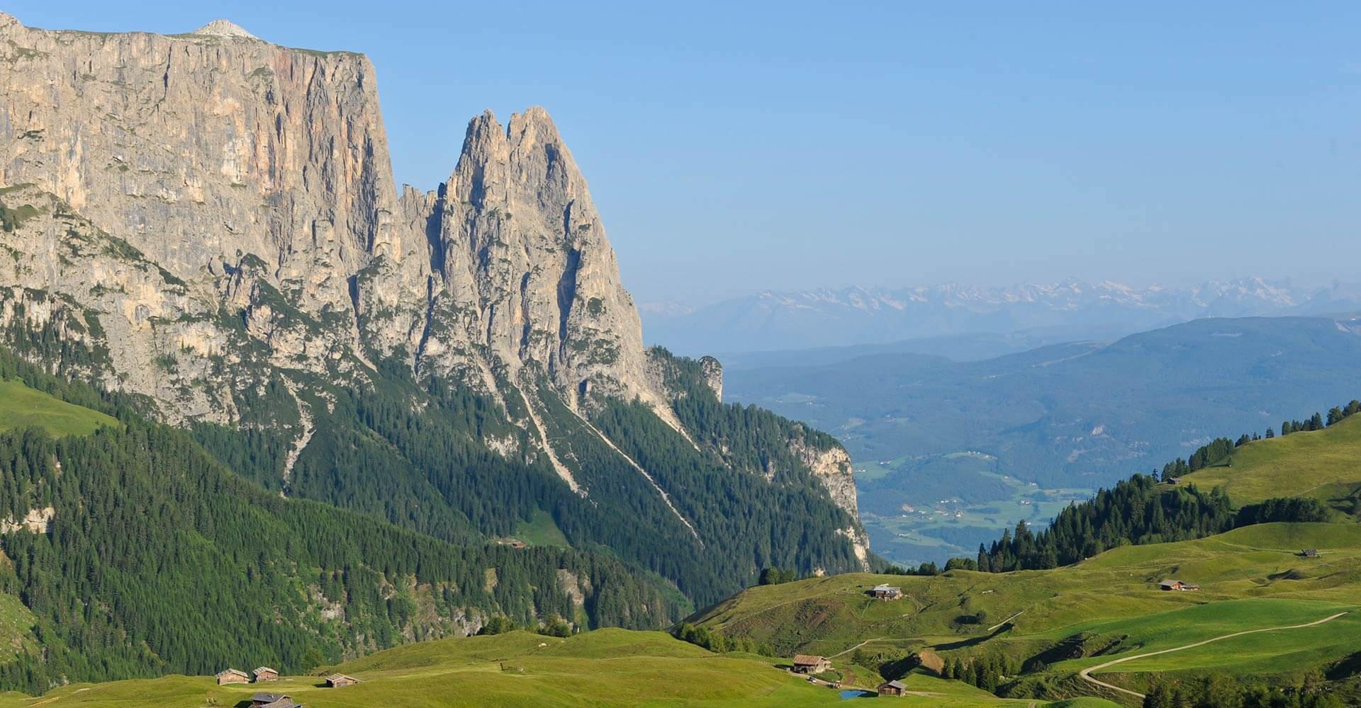 Urlaub an der Seiser Alm - UNESCO-Weltnaturerbe Dolomiten