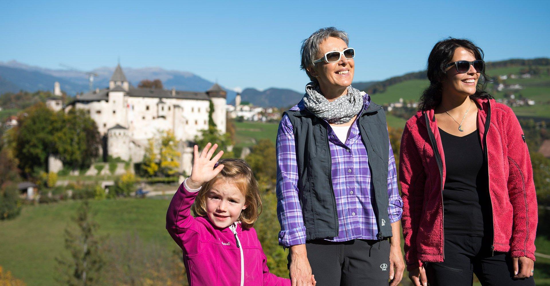 Herbsturlaub an der Seiser Alm/Südtirol