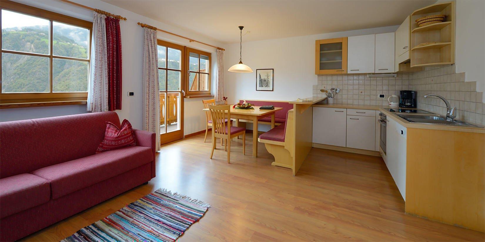 Komfortable Ferienwohnungen auf dem Prackfolerhof