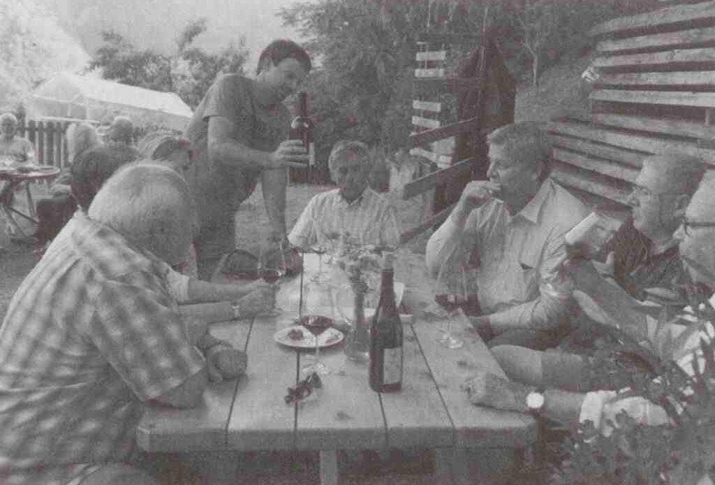 Weinverkostung am Prackfolerhof