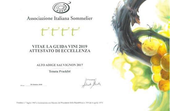 Vitea – Auszeichnung für Exzellenz 2019