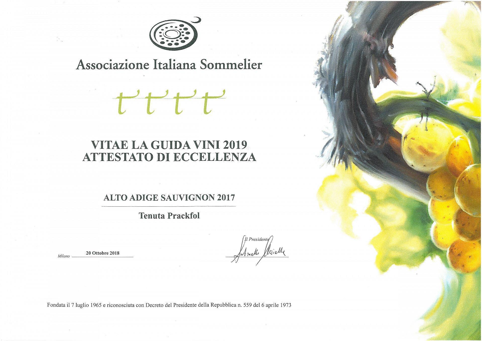 Auszeichnung für Exzellenz 2018